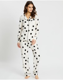 Project REM - Spot Print Pyjama Set