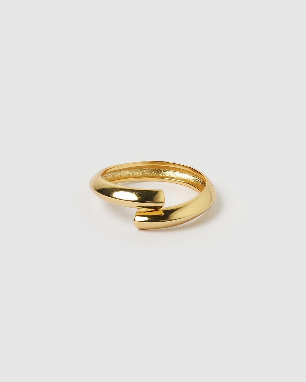Izoa London Ring Jewellery Gold