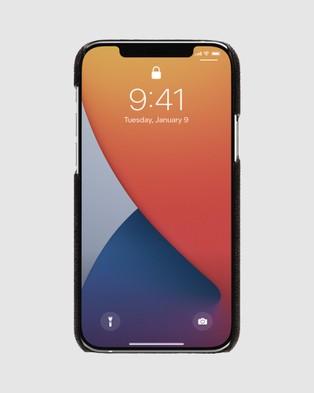 Coach Slim Wrap Case for iPhone 12 Mini - Tech Accessories (Black)