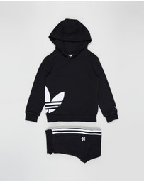 adidas Originals - Big Trefoil Hoodie Set - Kids