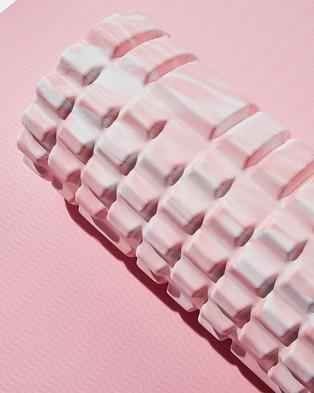 Cotton On Body Active Foam Roller - Training Equipment (Blush Swirl)