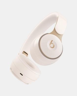 Beats by Dr. Dre Beats Solo Pro Wireless Headphones - Tech Accessories (Ivory)