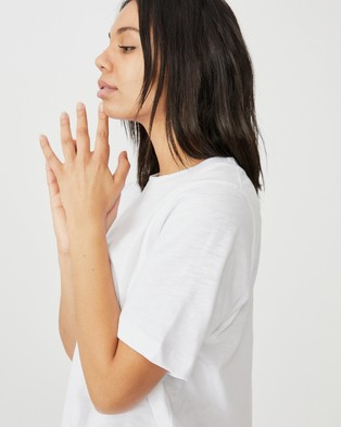 Cotton On The Boxy Boyfriend Tee - T-Shirts & Singlets (White)