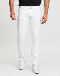 Armani Exchange - Slim Fit Five-Pocket Jeans