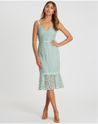 CHANCERY - Esme Lace Midi Dress