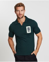 Kent and Curwen - Logo Embroidered Short Sleeve Polo
