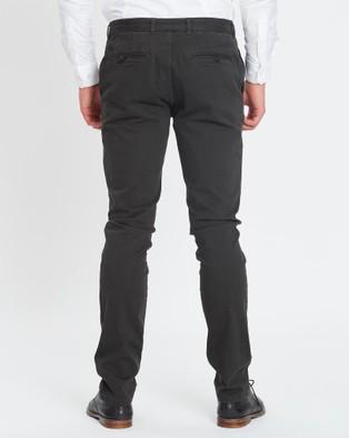 3 Wise Men Charlie Chinos - Pants (Grey)