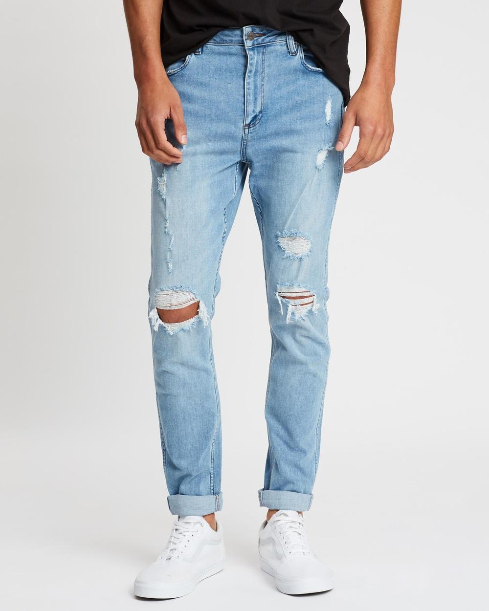 Wrangler Sid Slim Tapered Jeans Whiplash Australia