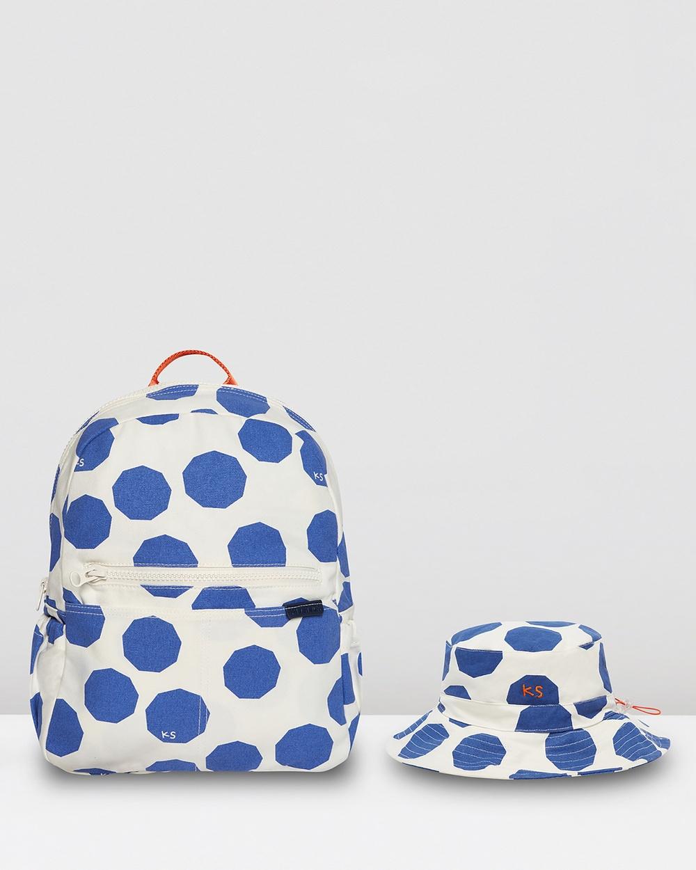 KID STOCK Essentials Bundle Backpacks Indigo