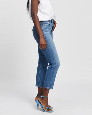Levi's Wedgie Straight Jeans - High-Waisted (Jive Tone)