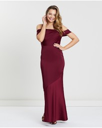 Oasis - Amy Slinky Cowl Maxi Dress