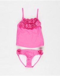 Bebe by Minihaha - Hailey Tankini with Mock Flowers - Kids