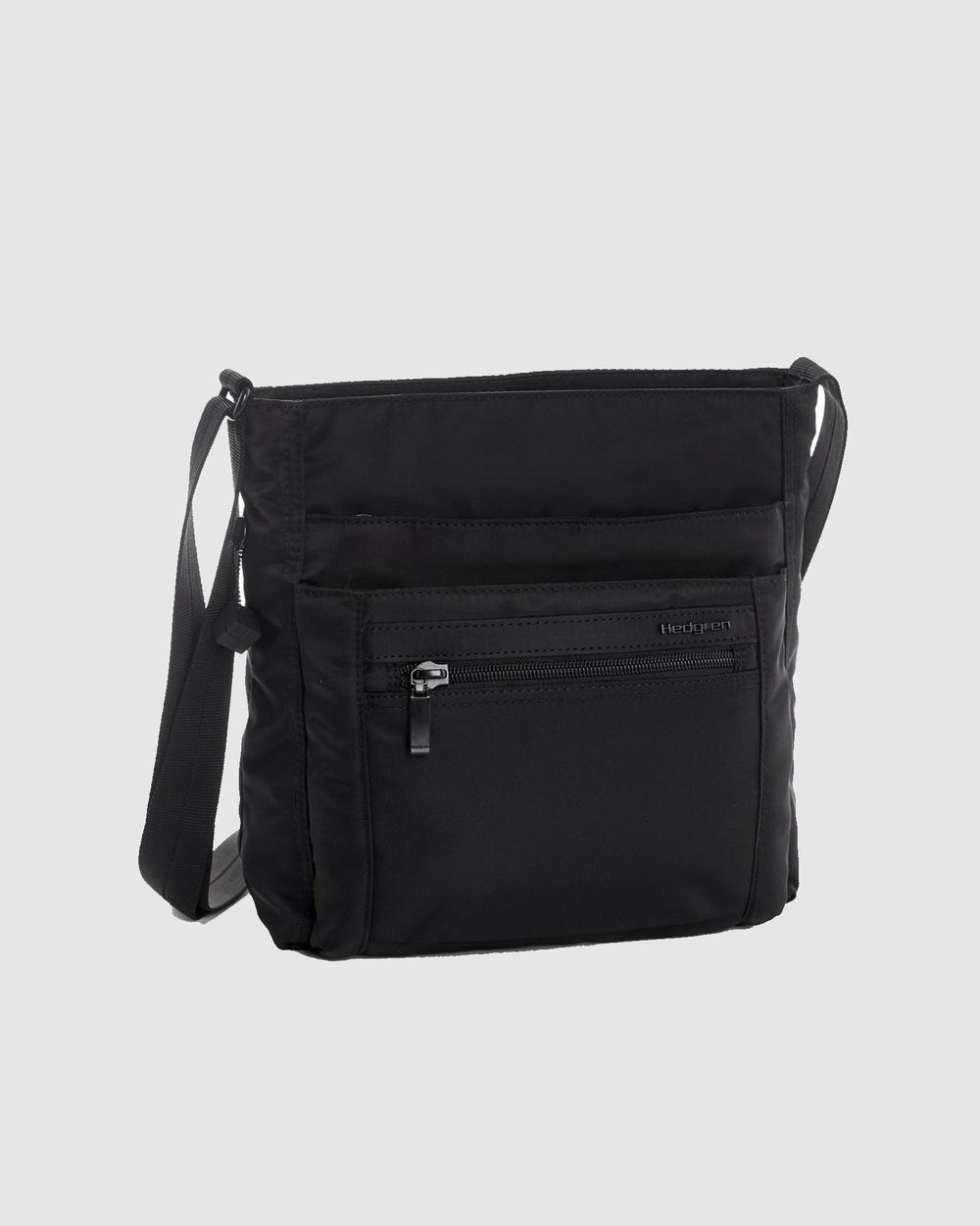 Hedgren Orva Duffle Bags Black Australia