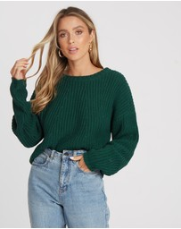 Calli - Laura Cable Knit Jumper