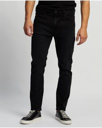 Abrand - A Dropped Slim Turn Up Jeans