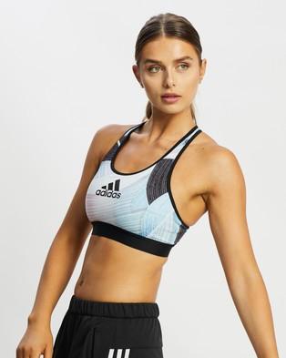 adidas Performance Don't Rest Nini Sum Training Bra - Crop Tops (Multicolour, Print & Black)