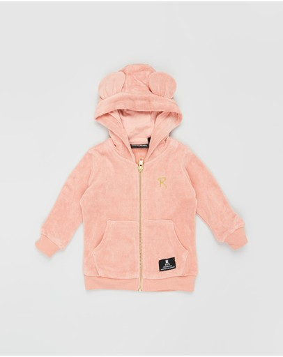 Rock Your Baby - Terry Towelling Hooded Jacket - Babies
