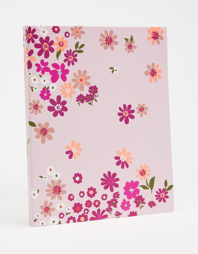 Kate Spade - Pacific Petals Concealed Spiral Notebook