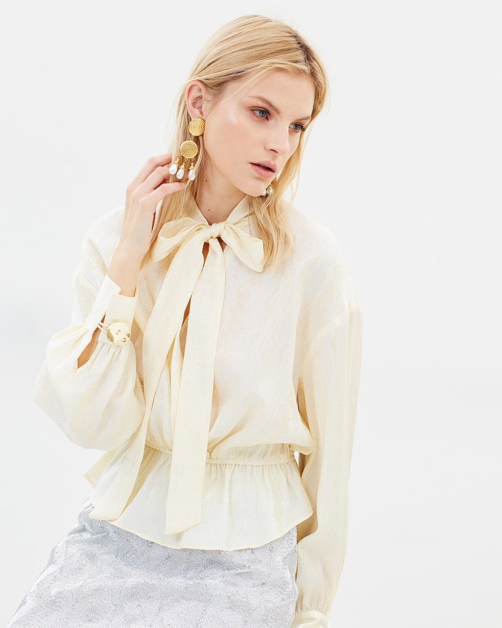 Manning Cartell Up Scale Blouse Tops Vanilla Up Scale Blouse