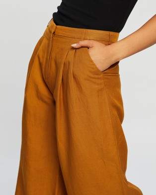 Grace Willow Jezebel Pants - Pants (Ochre)