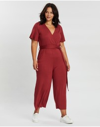 ONLY CARMAKOMA - Cropped Jumpsuit