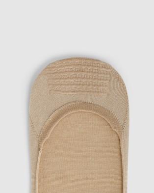 Sockdaily Pure Invis Bamboo No Show Socks 9 Pack - Underwear & Socks (Nude)