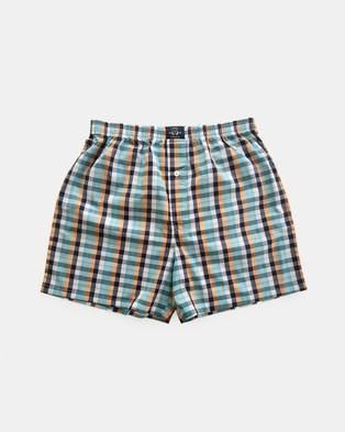 Coast Clothing Multi Coloured Boxer Shorts 2 Pack - Underwear & Socks (Multi-Colour)