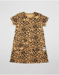 Mini Rodini - Leopard Dress - Kids-Teens