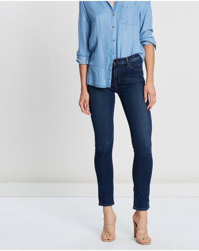 J Brand - Ruby High-Rise Cigarette Jeans