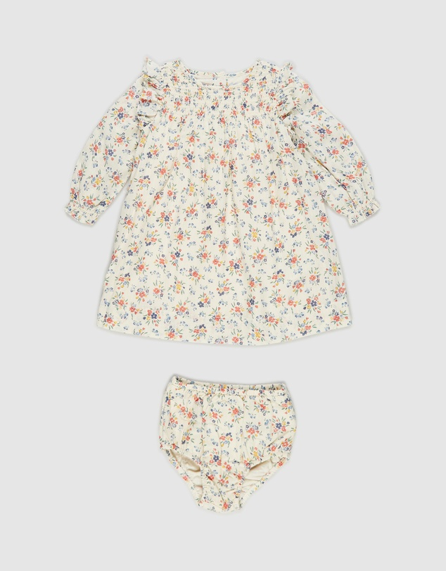 Polo Ralph Lauren - Smock Floral Dress Set - Babies