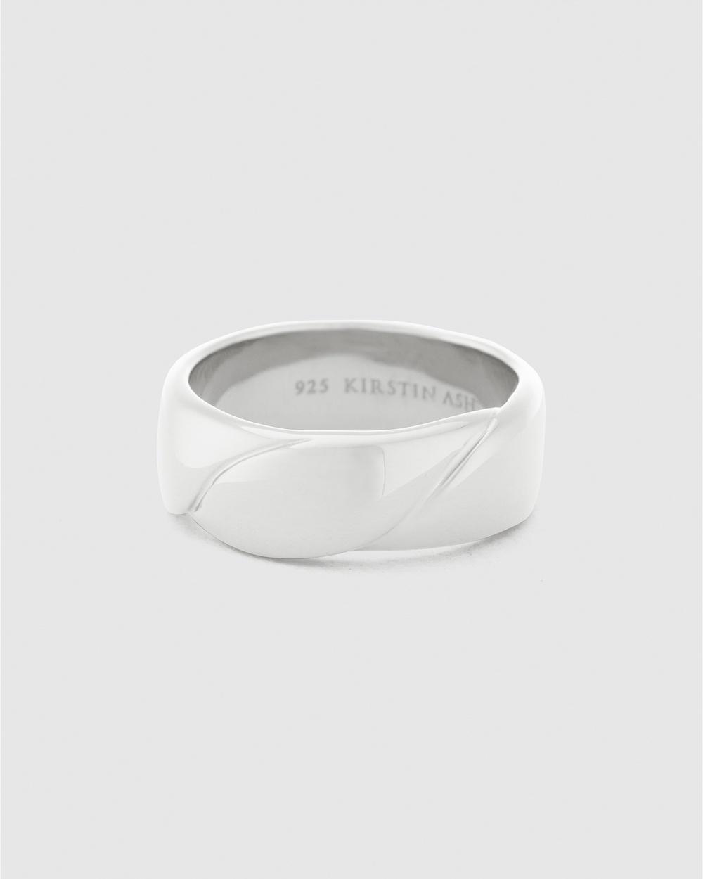 Kirstin Ash Embrace Ring Jewellery Silver