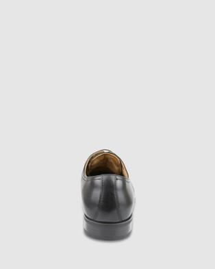Florsheim Jackson Cap - Dress Shoes (Black)