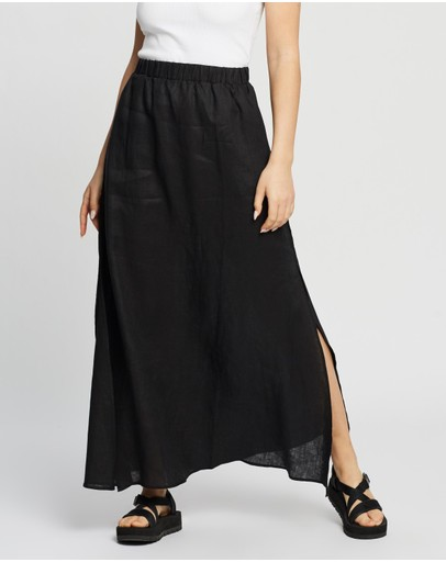 AERE - Split Maxi Skirt