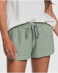 Roxy - Womens Impossible Love Linen Shorts