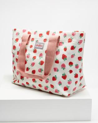 Cath Kidston Large Casual Brampton Tote - Bags (Sweet Strawberry)