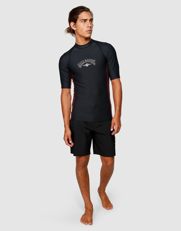 Billabong - Diamond Sidepanel Short Sleeve Rash Vest