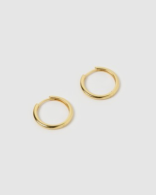 Arms Of Eve Scarlet Gold Earrings Jewellery Gold