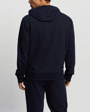 New Balance Essentials Embroidered Hoodie - Hoodies (Eclipse)