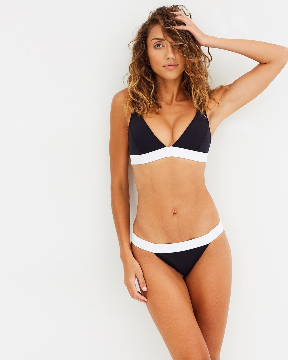 Bondi Born Moonbeam Coast Walk Bikini Bottoms Bikini Bottoms Black, White Moonbeam Coast Walk Bikini Bottoms