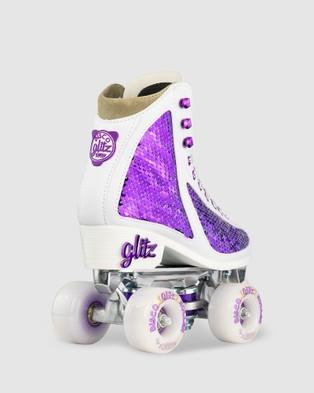 Crazy Skates Disco Glitz - Shoes (Purple)