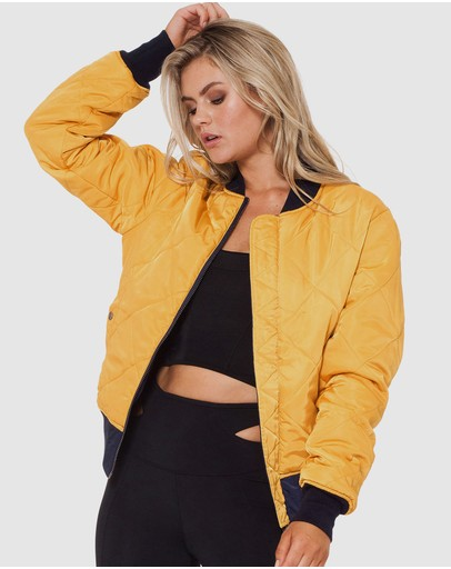 L'urv Flight Path Bomber Yellow/navy