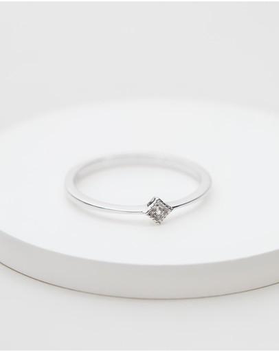 El&ro Starlight Pinky Ring Silver