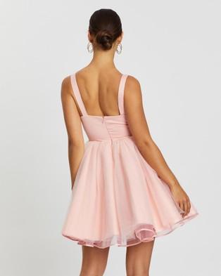 Loreta Prom Dress - Dresses (Pink)