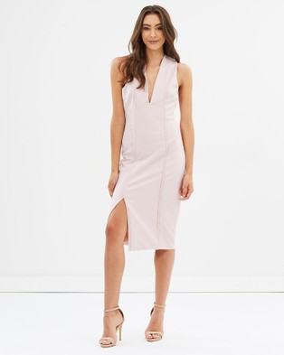 Bless'ed Are The Meek – Alliance Dress – Bodycon Dresses PINK