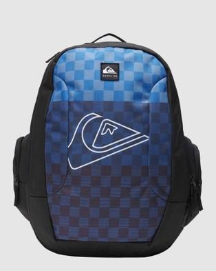 Quiksilver Schoolie 30L Large Backpack - Backpacks (NEBULAS BLUE)