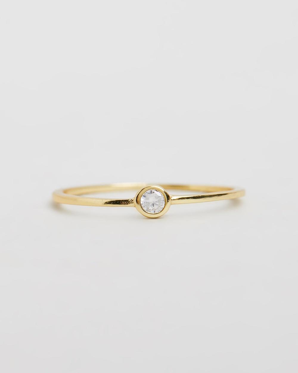 SAINT VALENTINE Saint Fine Quartz Ring Jewellery Gold