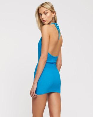 Lioness Heavenly Sent Mini Dress - Bodycon Dresses (Blue)