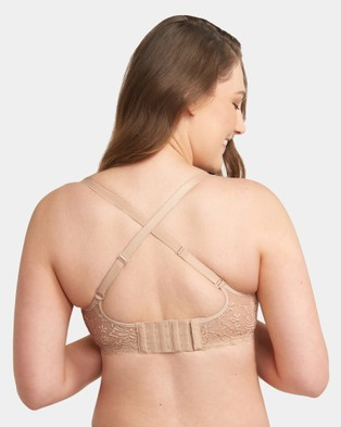 Triumph Gorgeous Mama Lace Wirefree Bra - Soft Cup Bras (Nude)