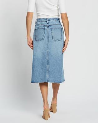 Nobody Denim Territory Skirt - Denim skirts (Territory)
