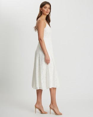CHANCERY - Bindee Midi Dress - Bridesmaid Dresses (White) Bindee Midi Dress